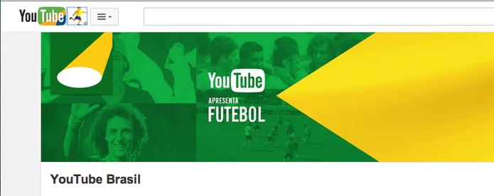 YouTube Apresenta: Futebol, a melhor seleção de vídeos sobre a Copa do Mundo 2014 (Foto: Reprodução/YouTube)