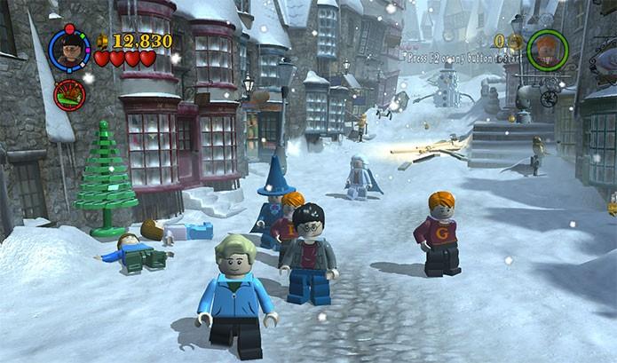 Lego Harry Potter: Years 1-4 levou o bruxinho aos games novamente (Foto: Divulgação)