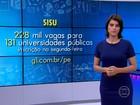 UFPE e UFRPE oferecem quase 10 mil vagas pelo SiSU em 2016