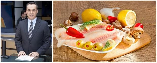 A receita do Sandro leva cachaça e saborosos filés de tilápia (Foto: Divulgação/RPC / Shutterstock)