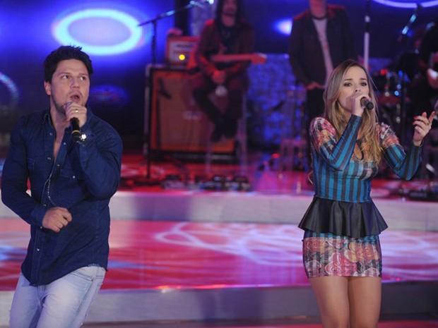 thaeme e thiago pela primeira vez no TV Xuxa (Foto: Divulgação / Xuxa Produções)