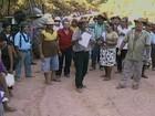 Em protesto, agricultores e índios  interditam parte da Transamazônica
