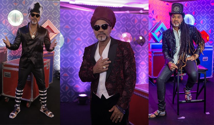 Carlinhos Brown, rei do look criativo no The Voice Brasil (Foto: Artur Meninea)