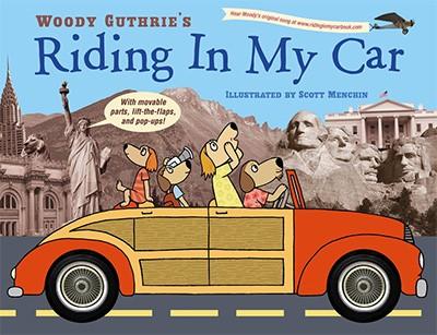 """Livro """"Riding My Car"""", de Woodie Guthrie (Foto: Reprodução)"""
