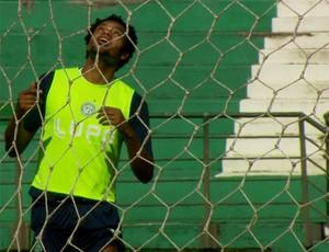 Renato Ribeiro em treino do Guarani (Foto: Carlos Velardi/ EPTV)