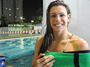 Alessandra Marchioro natação (Foto: João Gabriel Rodrigues / GLOBOESPORTE.COM)