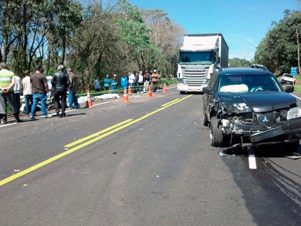 Motorista que provocou acidente tinha 17 anos e não possuia CNH (Foto: Divulgação/PRF)