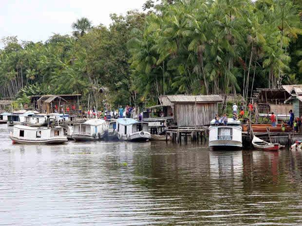 A cidade de Curralinho, no Pará, teve o menor PIB per capita do Brasil em 2010 (Foto: Rodolfo Oliveira / Agência Pará)
