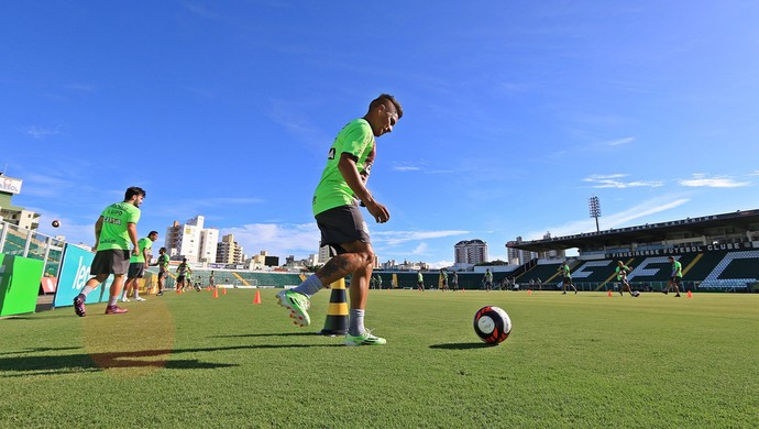 Figueirense treino (Foto: Luiz Henrique/Figueirense FC)