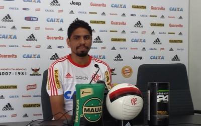 Wallace Flamengo (Foto: Fred Gomes / GloboEsporte.com)