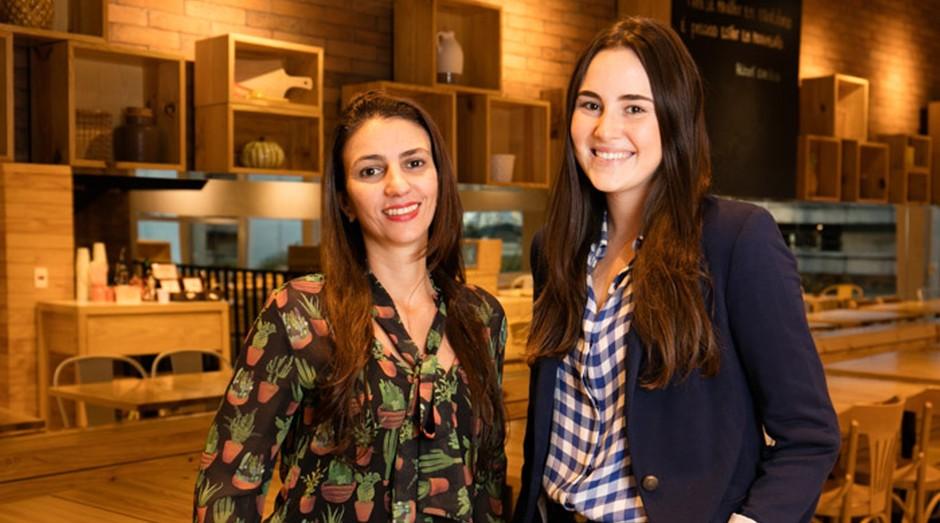 Bianca Hermida e Nicole Mendlewicz, sócias do Verde Vício  (Foto: Divulgação)