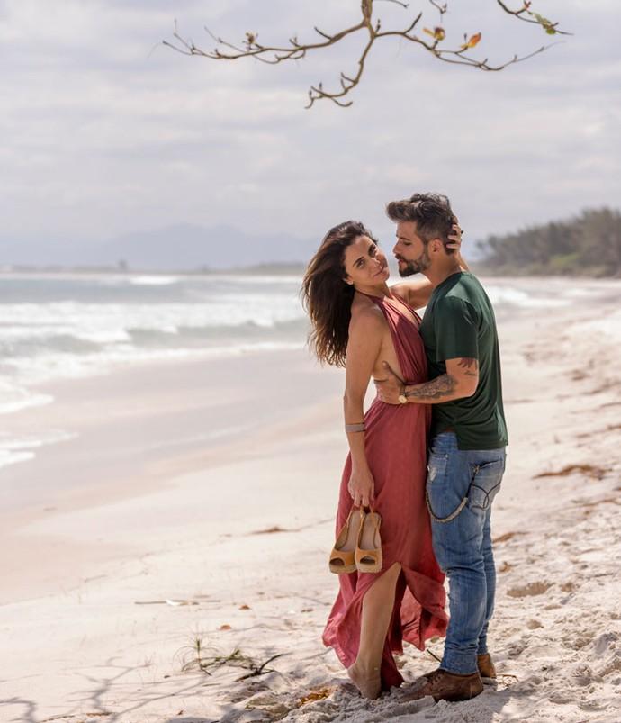 O namoro de Alice e Mario não deve mais ser escondido em breve, prometem os autores de 'Sol Nascente' (Foto: Ellen Soares / Gshow)