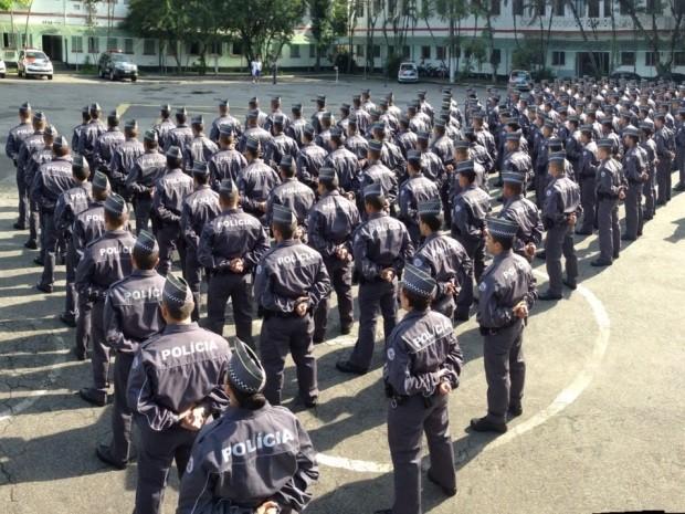 Polícia Militar enviará reforço para a Baixada Santista em julho (Foto: Divulgação / Polícia Militar)