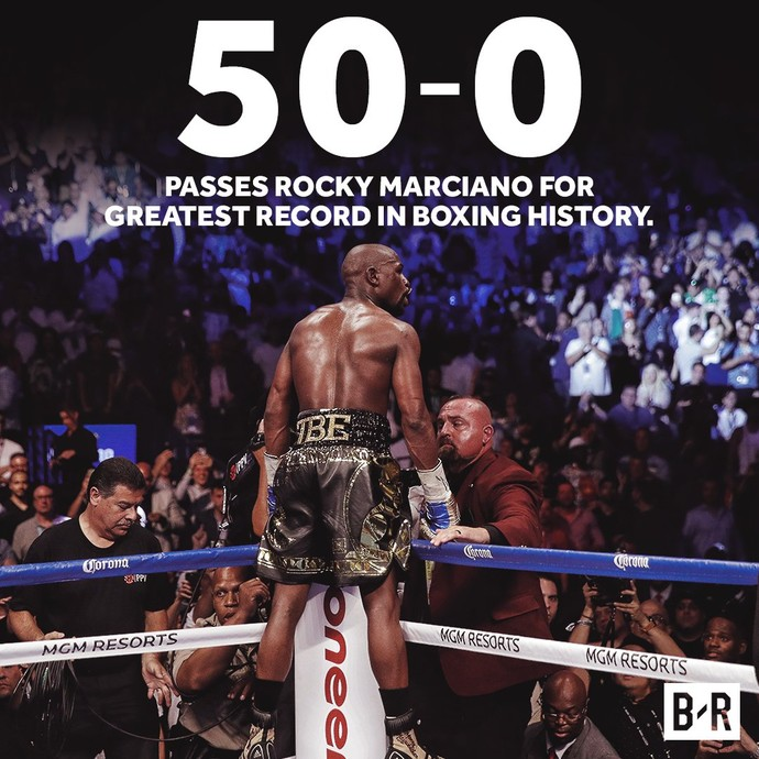 """Meme da vitória de Floyd """"Money"""" Mayweather (Foto: Reprodução/Twitter)"""