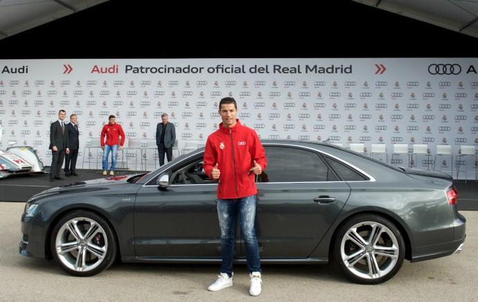 Cristiano Ronaldo Audi Real Madrid
