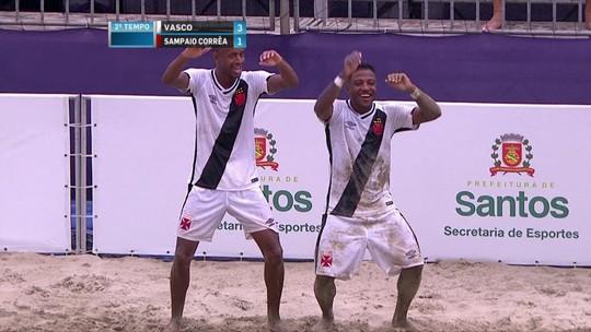 Vasco derrota Sampaio Corrêa na final do Brasileiro e vai à Copa Libertadores