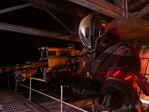 Um dos soldados de 'Destiny', novo game da Bungie (Foto: Divulgação/Bungie)