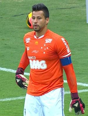 Fábio, goleiro do Cruzeiro (Foto: Reprodução / TV Globo Minas)