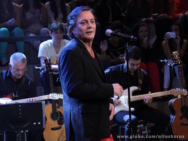 Fábio Jr. participa do programa Altas Horas deste sábado (Foto: TV Globo/Altas Horas)