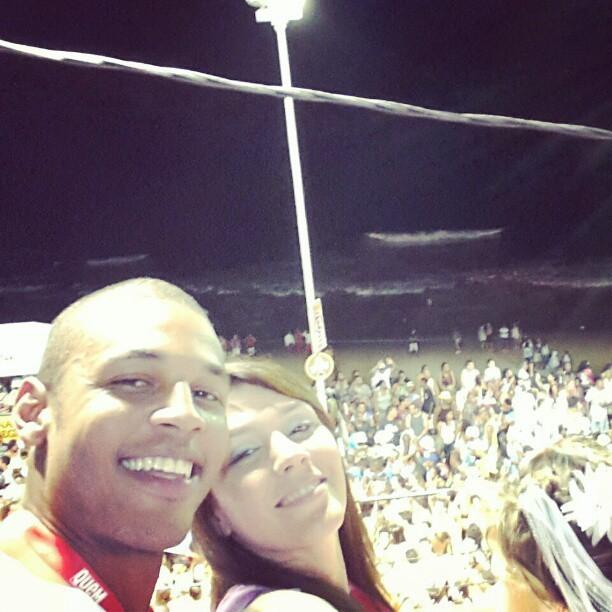 Pattrick Silva e Simony na Bahia (Foto: Reprodução/Instagram)