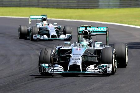 GP Brasil Fórmula 1 - Nico Rosberg e Hamilton (Foto: Getty Images)
