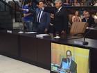 Izaias Santana e vereadores tomam posse em Jacareí, SP