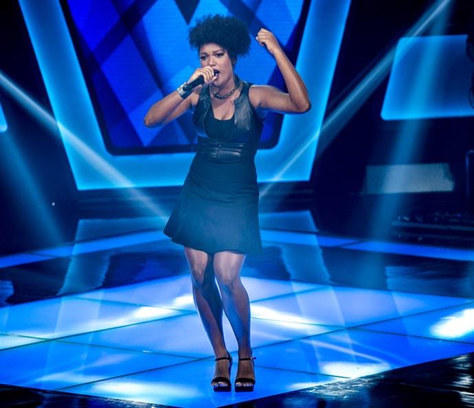 Mylena Jardim nas Audições às Cegas do 'The Voice Brasil' (Foto: Isabella Pinheiro/Gshow)