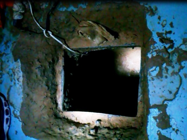 26 detentos fugiram por um túnel em Blumenau  (Foto: Divulgação)