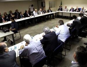 reunião dos presidentes dos clubes na CBF (Foto: Rafael Ribeiro / CBF)