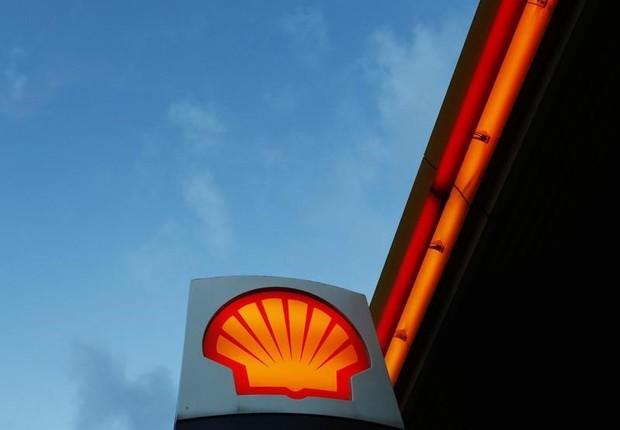 Logo da Shell visto próximo a escritório de Londres (Foto: Luke MacGregor/Reuters)