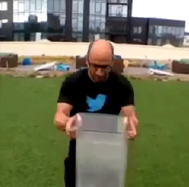 Dick Costolo, CEO do Twitter (Foto: Reprodução Vine)