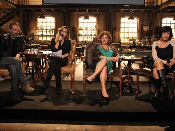 Ricardo Waddington, Amora Mautner, Thelma Guedes e Duca Rachid (Foto: Nathalia Fernandes / Tv Globo)