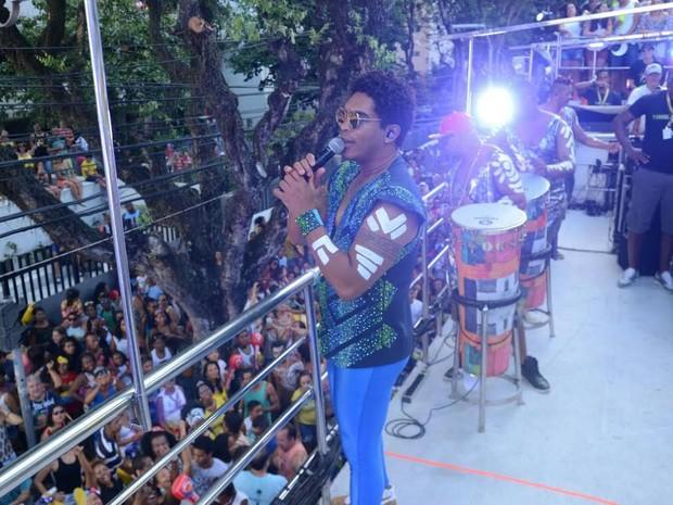 Timbalada; Denny; Carnaval; Bahia (Foto: Márcio Reis /Ag Haack)