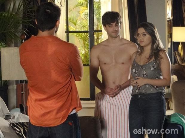 Bernado na novela 'Em Família', da rede Globo (Foto: Divulgação)