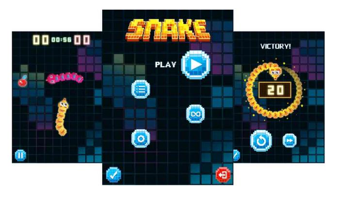 Visual do jogo foi reformulado para o novo Nokia 3310 (Foto: Divulgação/Nokia)