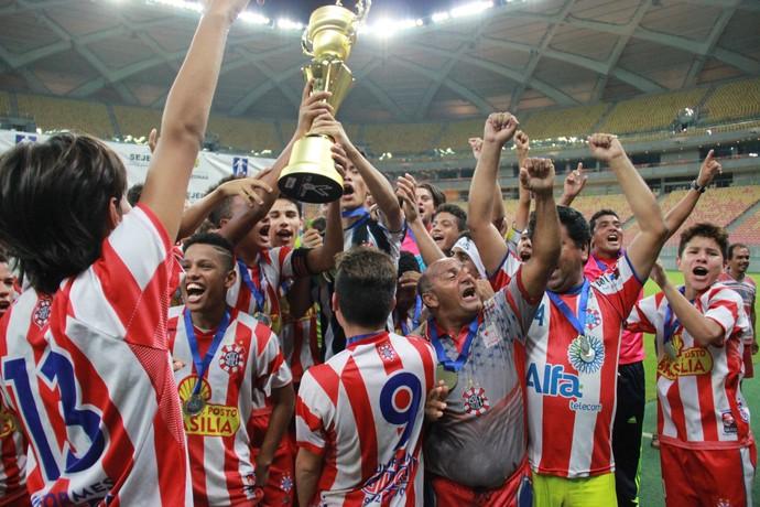 Sul América campeão infantil amazonas (Foto: Matheus Castro)