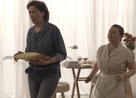Silvana gasta dinheiro de Bibi