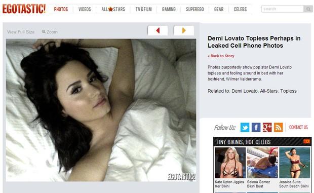 Demi Lovato (Foto: Reprodução/Egotastic)
