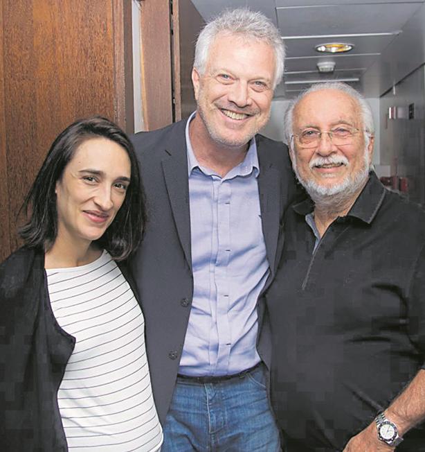 Pedro Bial e a mulher, Maria Prata, assistiram a um show de Roberto Menescal (Foto: Divulgação)