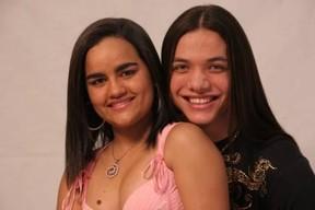 Mara Pavanelly e Wesley Safadão na época do grupo Garota Safada (foto de arquivo) (Foto: Divulgação)
