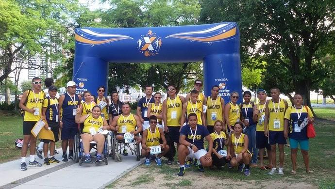 Delegação amapaense fatura diversas medalhas no Circuito Caixa de Atletismo, em Recife (Foto: Divulgação/AAEPED)