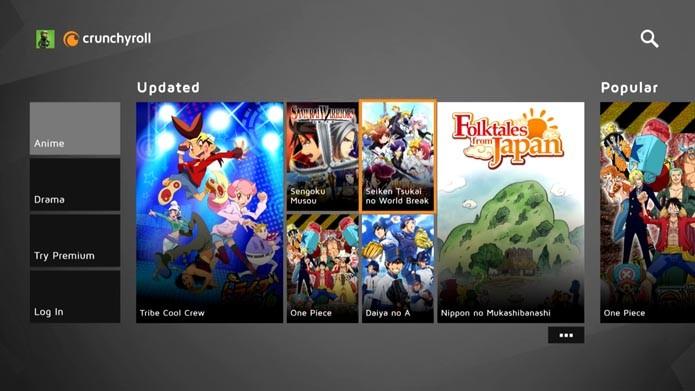Crunchyroll: veja como assistir animes com o aplicativo no Xbox One (Foto: Reprodução/Murilo Molina)
