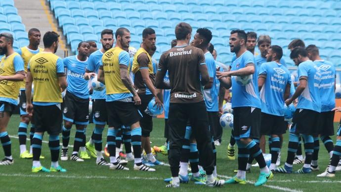 Grupo Grêmio  (Foto: Eduardo Moura/GloboEsporte.com)
