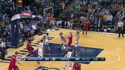 Melhores momentos: Washington Wizards 111 x 98 Indiana Pacers pela NBA