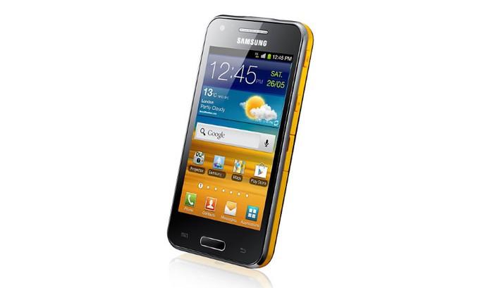 Samsung Galaxy Beam tem design mais compacto e pode ser levado no bolso (Foto: Divulgação/Samsung)
