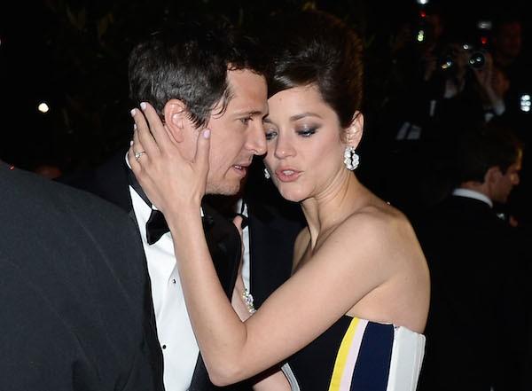 A atriz Marion Cotillard e o namorado, o ator Guillaume Canet (Foto: Getty Images)