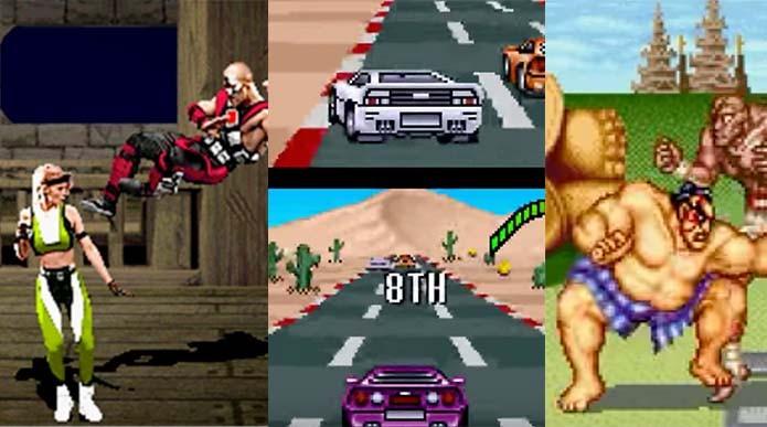 Top Gear, Mortal Kombat: relembre os melhores jogos multiplayer do Super Nintendo (Foto: Reprodução/Murilo Molina)