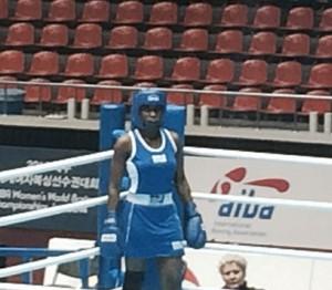 Boxe feminino- Campeonato Mundial (Foto: Guilherme Costa)