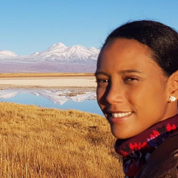 Tais Araújo em férias no Chile (Foto: Reprodução/ Instagram)