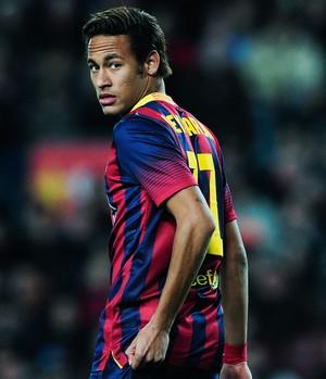 neymar, Barcelona x Rayo Vallecano (Foto: AFP)
